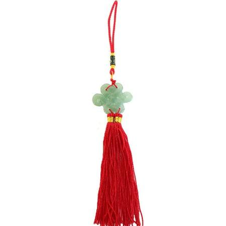 Jade Mystic Knot Lucky Charm