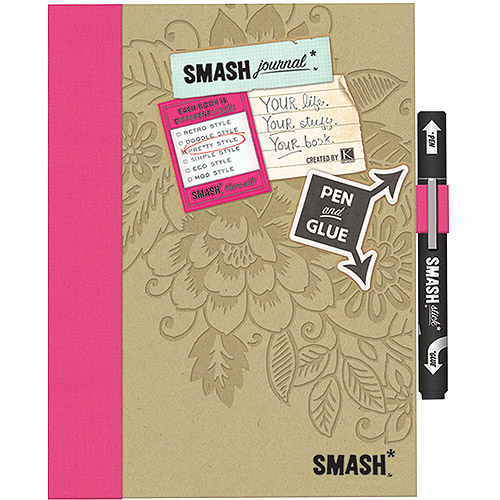 K&Company Pretty Pink SMASH Folio, Pretty Pink