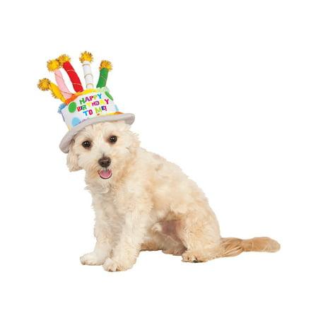 Rubie's Birthday Cake Hat - Medium - Large (Birthday Cake Costume)