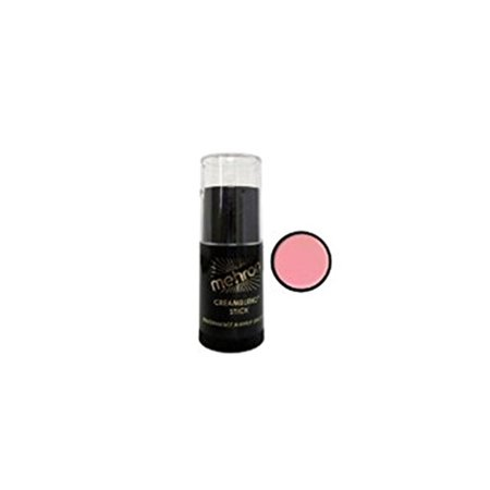 Mehron 400 (.75oz, Pink) Cream Blend Stick Makeup Blue Cream Blend Stick