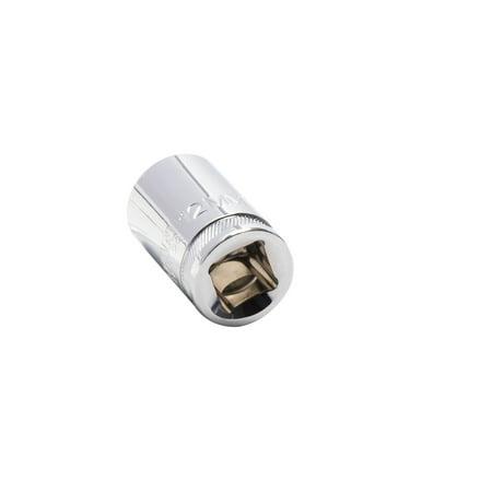 STEELMAN 55473 3/8-Inch Drive x 12mm 6-Point Single Metric Socket