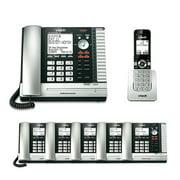 VTech ErisBusiness Bundle w/UP416 Console Phone + (UP406-5 + UP407) Extra Desksets