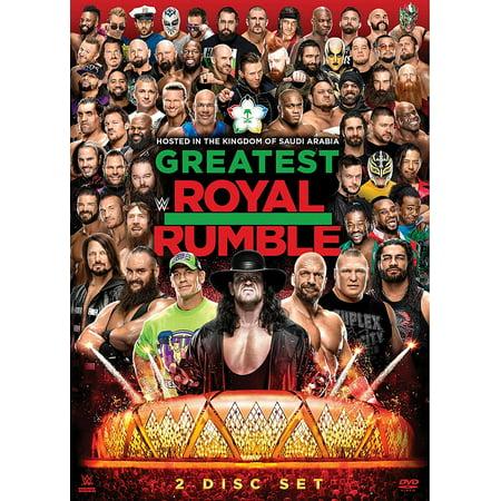 WWE: Greatest Royal Rumble 2018 - Royal Rumble Winners