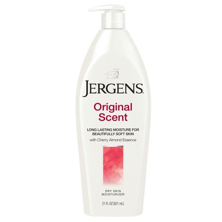 Jergens Original Scent Dry Skin Moisturizer with Cherry Almond Essence 21 Oz Body Lotion Cherry Almond