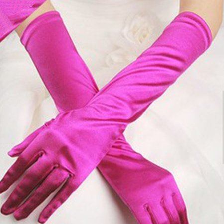 EFINNY Women Bridal Evening Party Prom Costume Gloves - Evening Glove : Collection Apparel