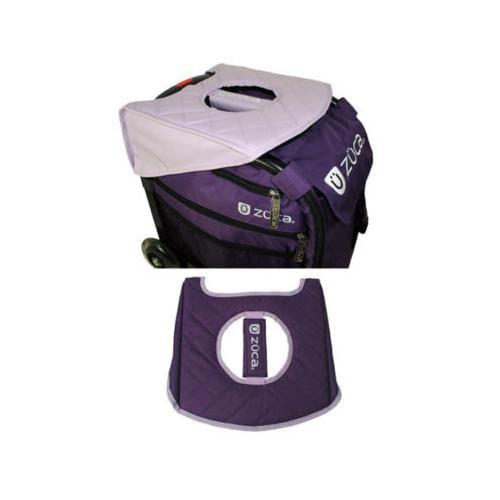 ZUCA Reversible Padded Seat Cushion (Lilac/Purple)