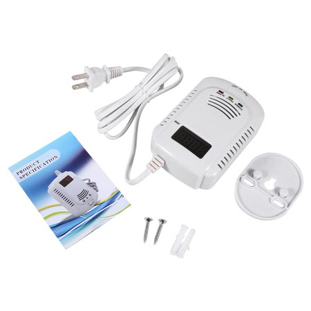 Sound Gas Methane Propane Leak Detector Tester Measurer For Home Personal Security