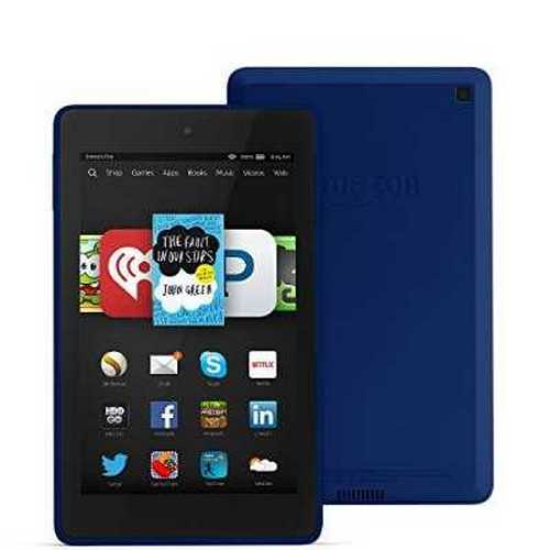 Refurbished Fire HD 6, 6 HD Display, Wi-Fi, 8 GB - Includes Special Offers, Cobalt