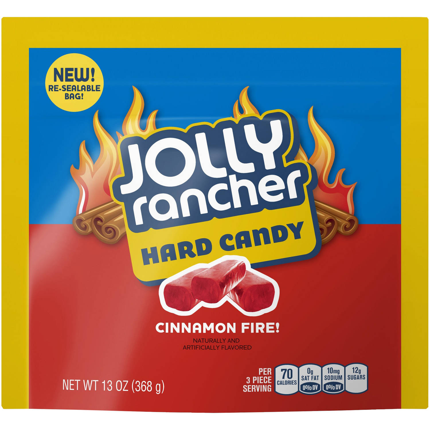 Jolly Rancher Cinnamon Fire! Hard Candy, 13 oz