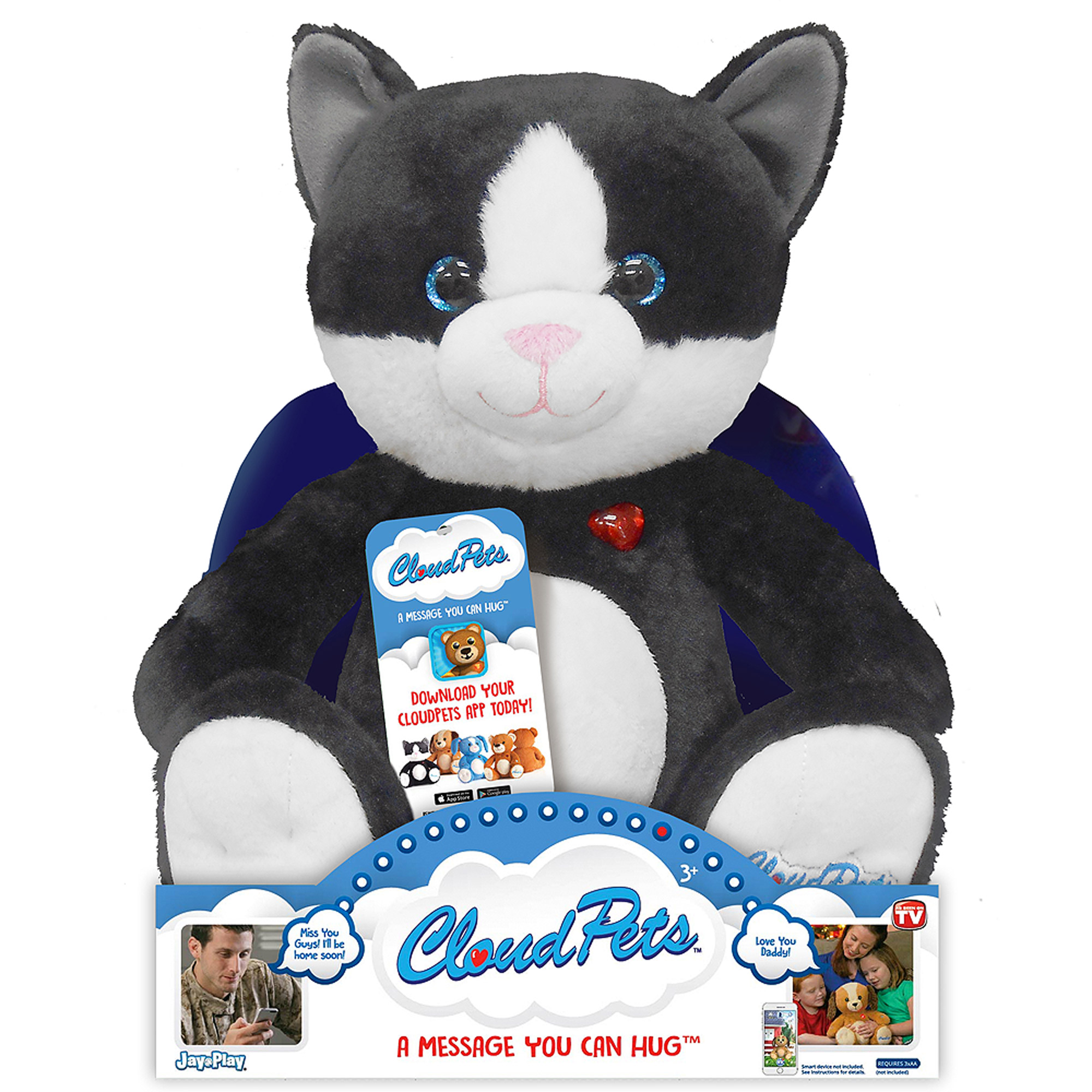 "As Seen on TV Cloud Pets 12"" Cat"