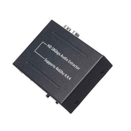 Audio Extractor 4k 60Hz Audio Extractor 18Gbps Audio Splitter - image 1 de 7