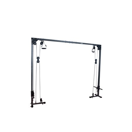 (AKONZA Cable Cross Over Chest Machine Total Body Pulley System Athletic Cross Fit Training Gyms Friction Less Movement)