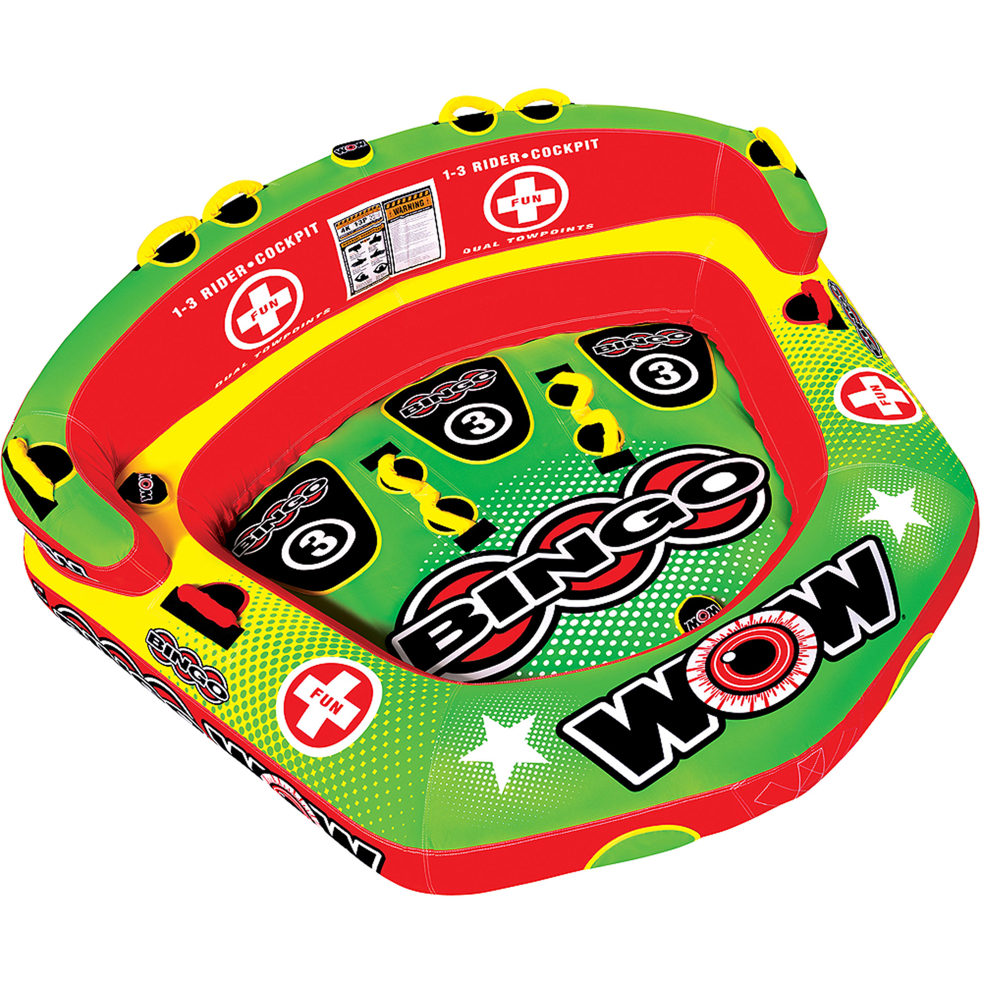WOW Bingo Towable, 3 Rider by Generic