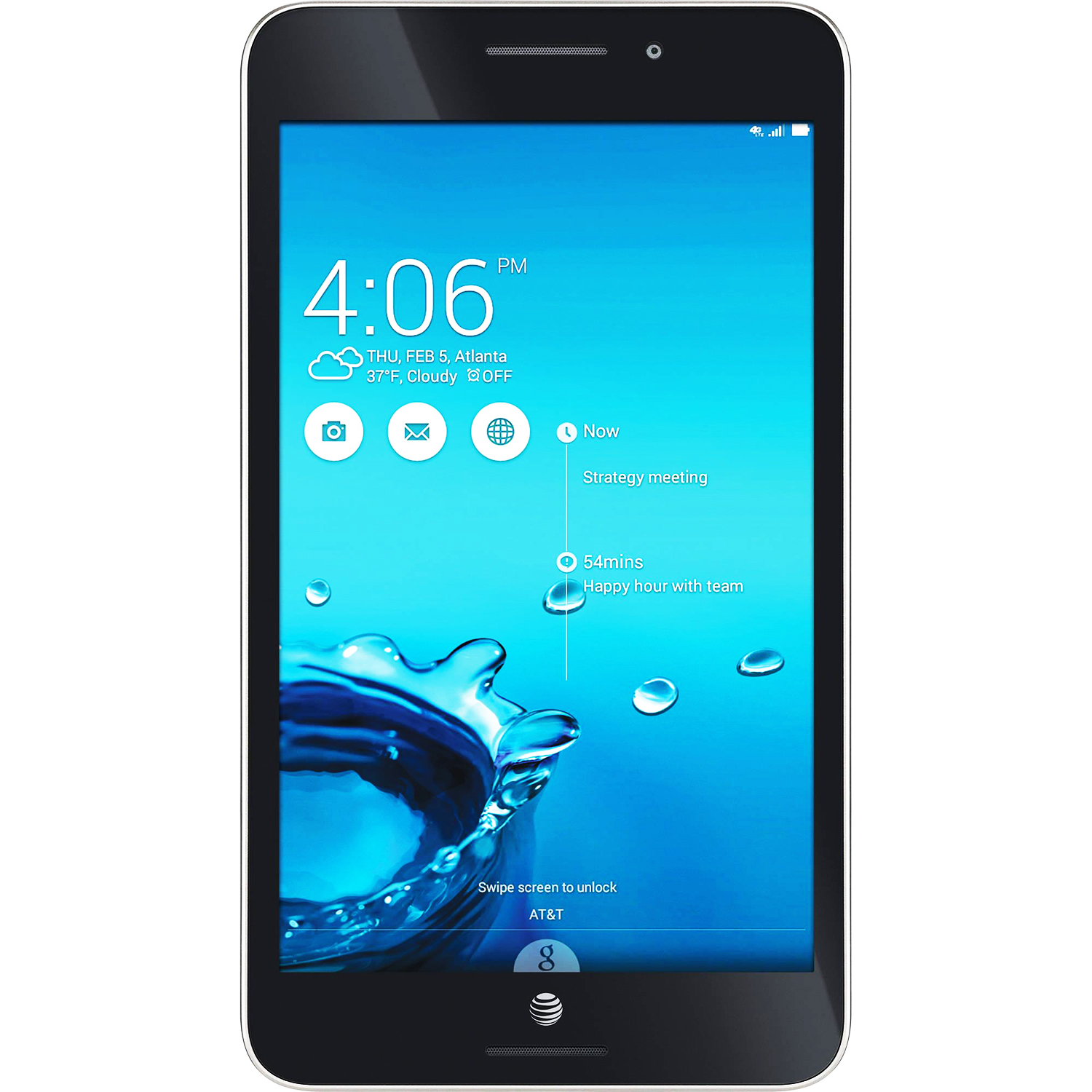 "Refurbished ASUS MeMO Pad 7 7"" IPS LTE QuadCore 1.33GHz 1GB 16GB WiFi Android Tablet-AT&T"