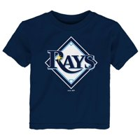 Tampa Bay Rays Toddler Primary Logo T-Shirt - Navy