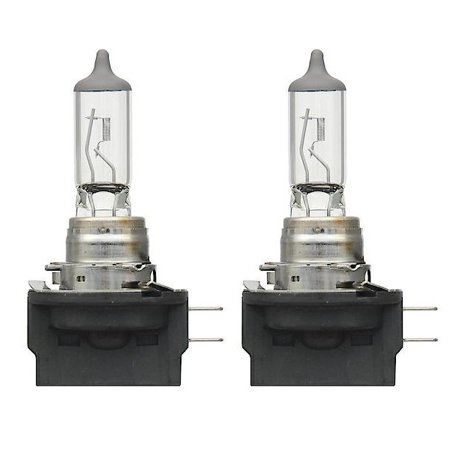 2x H11B Halogen 55W 12V Low-Beam Car Headlight Bulbs Bright Lights Clear Light