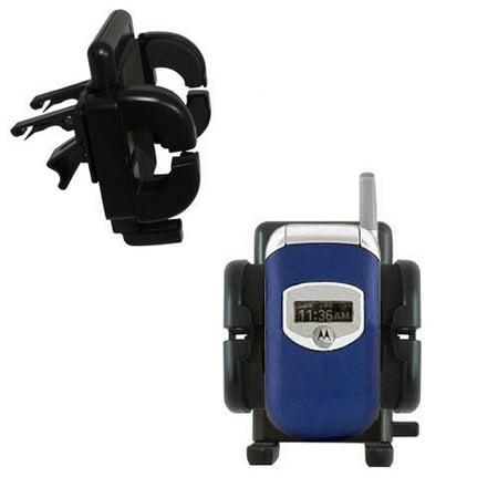 Gomadic Air Vent Clip Based Cradle Holder Car / Auto Mount suitable for the Motorola V260 V262 V265 V266 V276 - Lifetime Warranty V262 Cell Phone Accessory