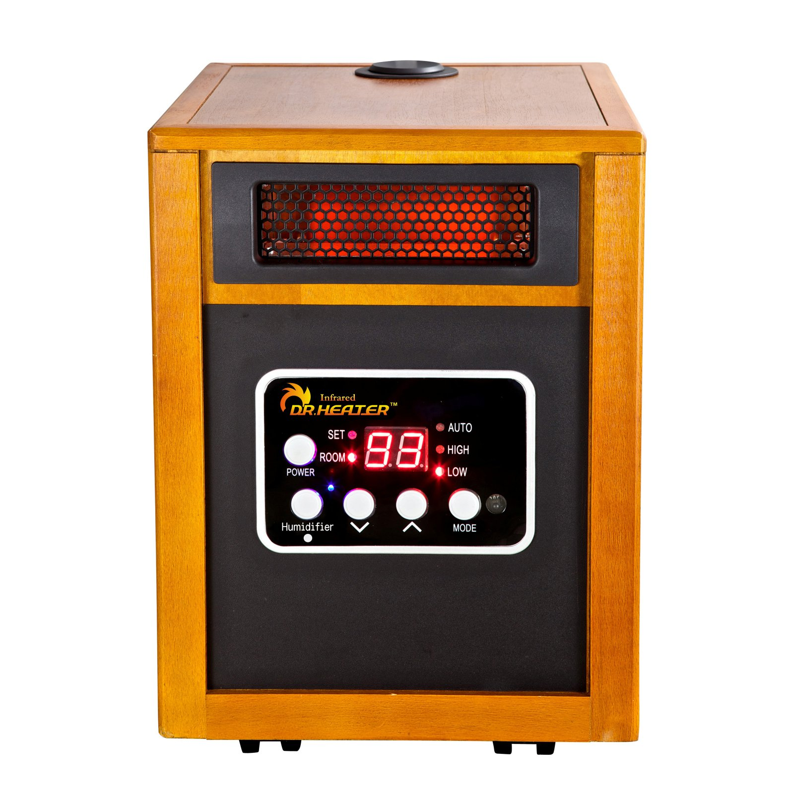 Dr. Infrared Heater DR-968H Portable Space Heater with Humidifier, 1500W