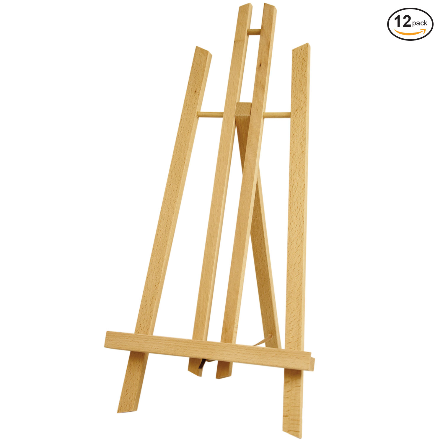 12 Pack of US Art Supply® Large Tabletop Display A-Frame Artist Easel Painting