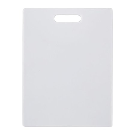 Farberware 11-inch By 14-inch White Poly Cutting Board