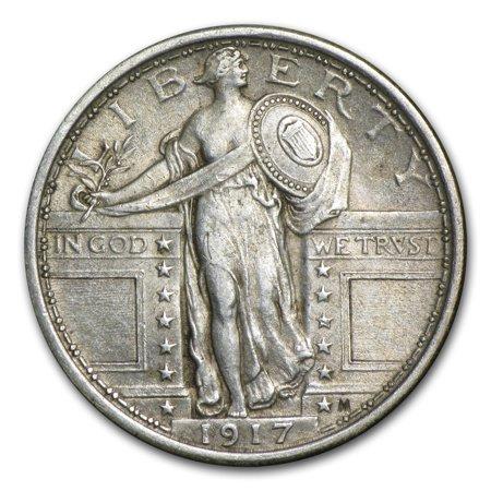 - 1917 Standing Liberty Quarter Type I AU