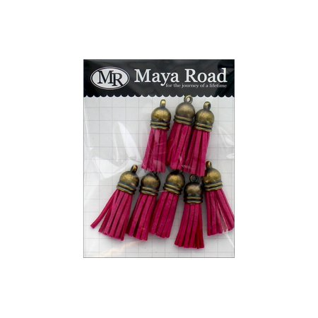 Maya Road Vintage Tassels Ant Gold Cap (Maya Road Chipboard)