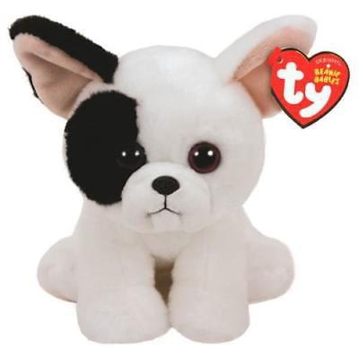 Ty Beanie Baby Reg Marcel the White Dog