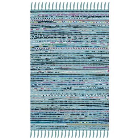 Recycled Rag Rugs - Safavieh Rag Skylar Striped Area Rug or Runner