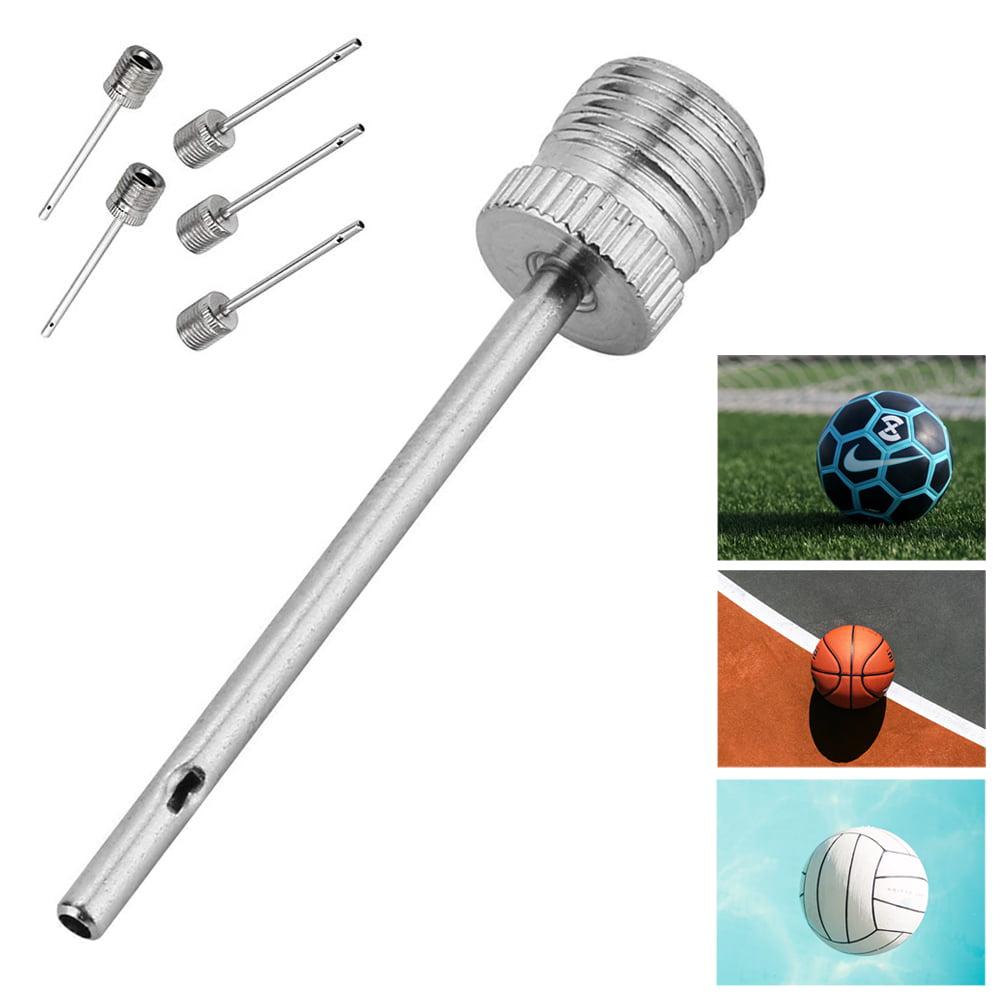 30PCS Air Pump Inflator Needle Set Basketball Football Soccer Sports Adapter Pin
