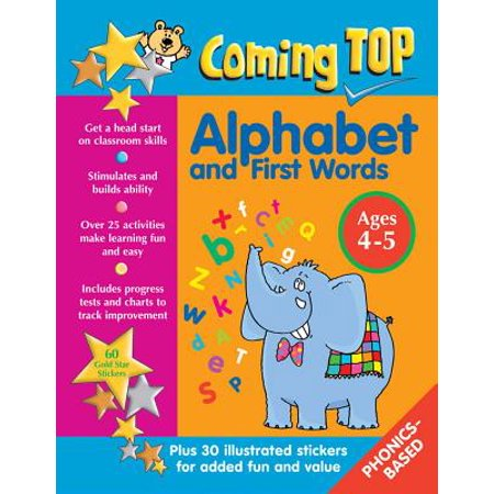 Coming Top Alphabet and First Words Ages 4-5 : Get a Head Start on Classroom Skills - With (Words That Start With Ph For Kids)