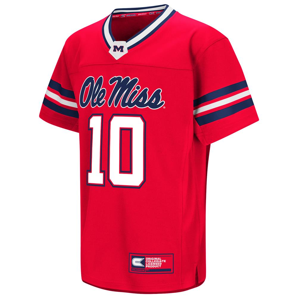 Youth Hail Mary Ole Miss Rebels Football Jersey Walmart Com