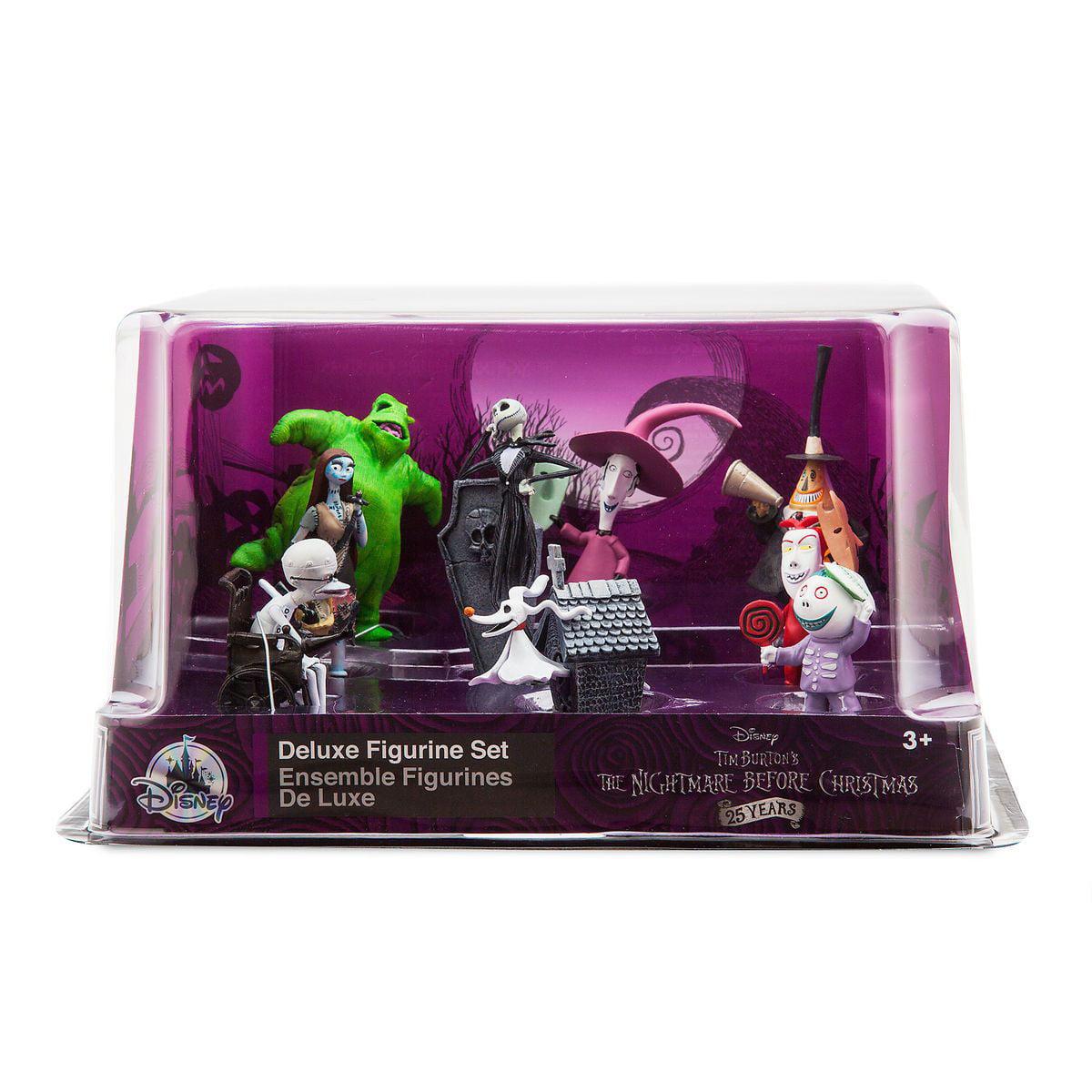 Disney The Nightmare Before Christmas Deluxe Figure Play Set Cake ...