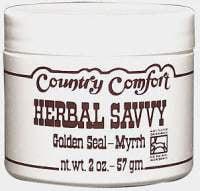 Herb Savvy-Goldenseal/Myrrh Salve Country Comfort 2 oz Cream