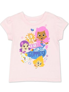 Bubble Guppies Toddler Girls Short Sleeve T-Shirt Tee ANBC732