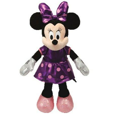 Ty Disney Sparkle Minnie - Mouse Purple Medium