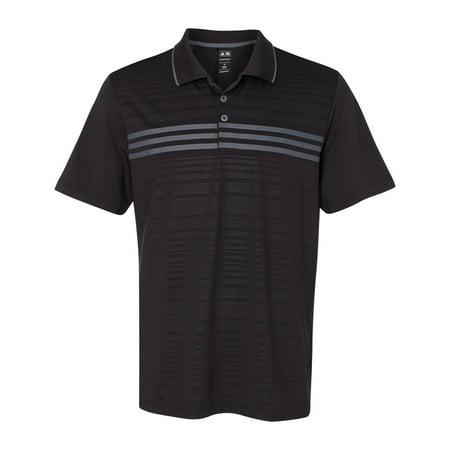 5255425271c39 adidas A124 Golf Puremotion Three Stripe Chest Polo