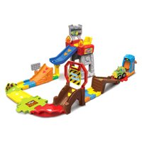 VTech Press and Race Monster Truck Rally Playset with Toy Vehicle
