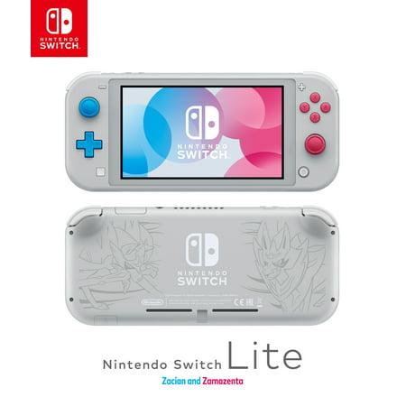 Nintendo Switch Lite Console, Zacian & Zamazenta Edition