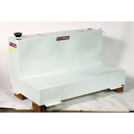 Weather Guard (Werner) 354-3-01 Liquid Transfer Tank  Diesel; 90 Gallon Capacity; L-Shape; 52 Inch Length x 30 Inch Width x 26 Inch Height; White; Steel; With Locking Cap And Mounting Hardware - image 1 of 1