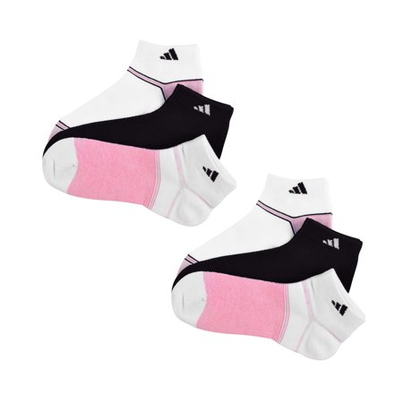 adidas - Adidas Women s Superlite Climacool Low Cut Socks -Black White Pink  - Walmart.com ad6627f93c