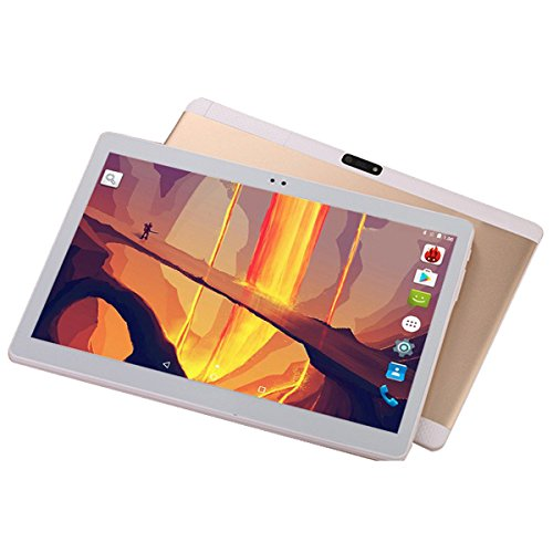 10 inch Octa Core Unlock 3G Squad Marketing Tablet 1GB RAM 16GB ROM Dual SIM Card Android 5.1 GPS Tablet (Rose Gold US),SK2039001