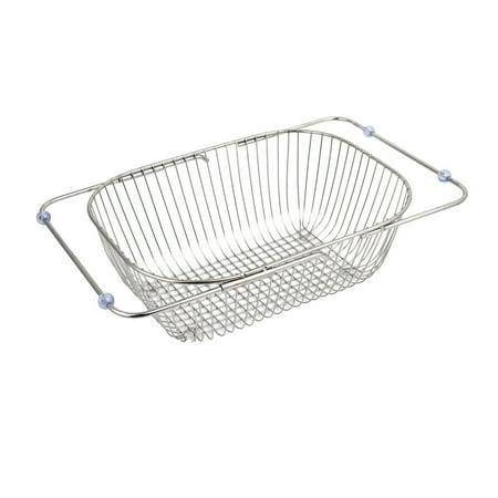 Unique Bargains Kitchen Adjustable Dish Rack Drainer