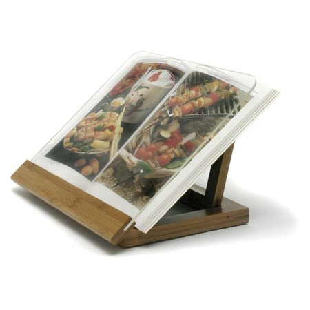 Chefs Center Cookbook Holder (Lipper Bamboo Cookbook Holder)
