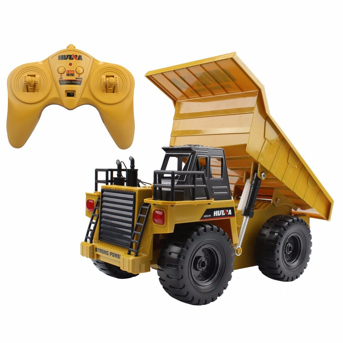 2.4Ghz 6 Channel Radio Control Dump Truck R C RTR by
