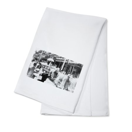 - Virginia City, Nevada - The Good Ol Days, Horse Drawn Carriage (100% Cotton Kitchen Towel)