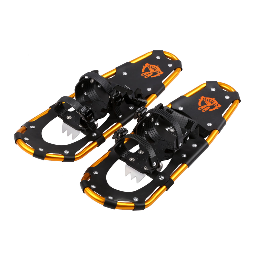 ENKEEO Light Weight Aluminum Alloy Terrain Snowshoes 25 inches by