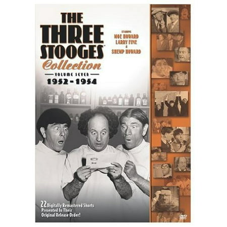 Three Stooges Collection: Volume Seven 1952-1954 (DVD) - Three Stooges Halloween