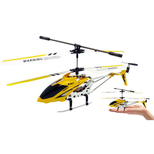 JP Commerce Syma Mini Metal 3 Channel RC Helicopter Series with Gyro