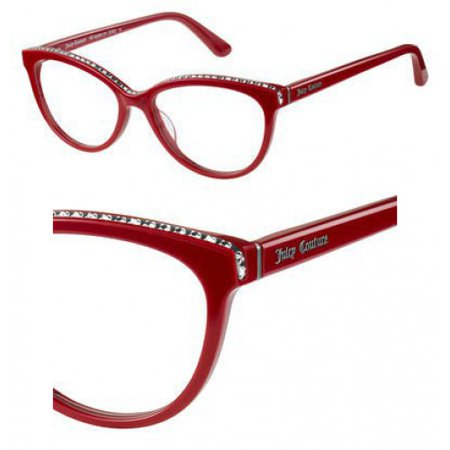Juicy Couture JC Ju180 Eyeglasses 08CQ Cherry Juicy Couture Brown Eyeglasses