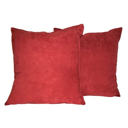40 X 40 Faux Suede Decorative Pillow 40Pack Walmart Mesmerizing 22x22 Decorative Pillows